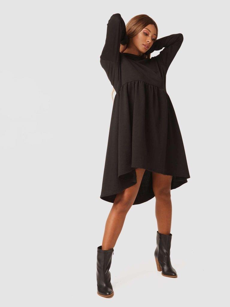 Czarna sukienka mini Love&Live
