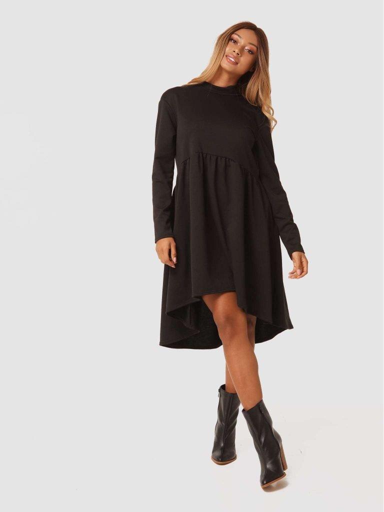 Czarna sukienka mini Love&Live (zdjęcie 3)