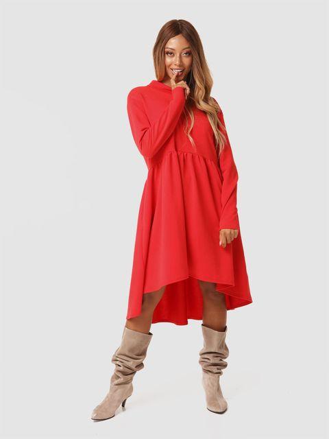 Czerwona sukienka mini Love&Live