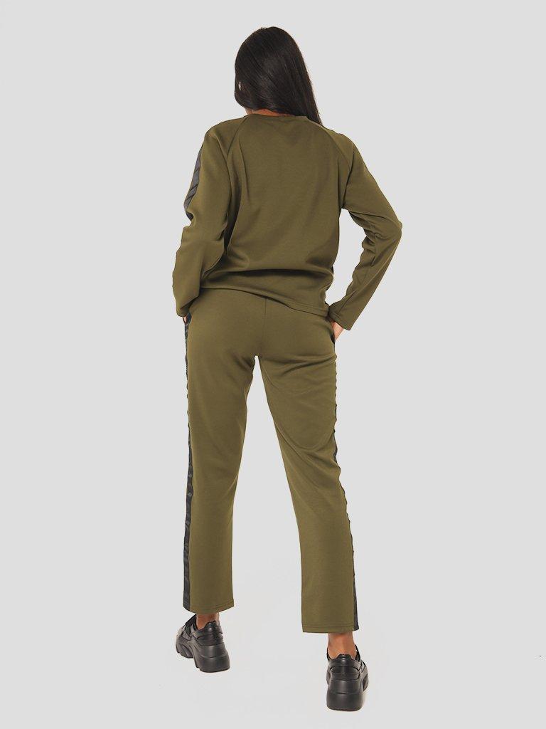Zestaw w kolorze khaki (bluza, spodnie) Katarina Ivanenko (zdjęcie 5)