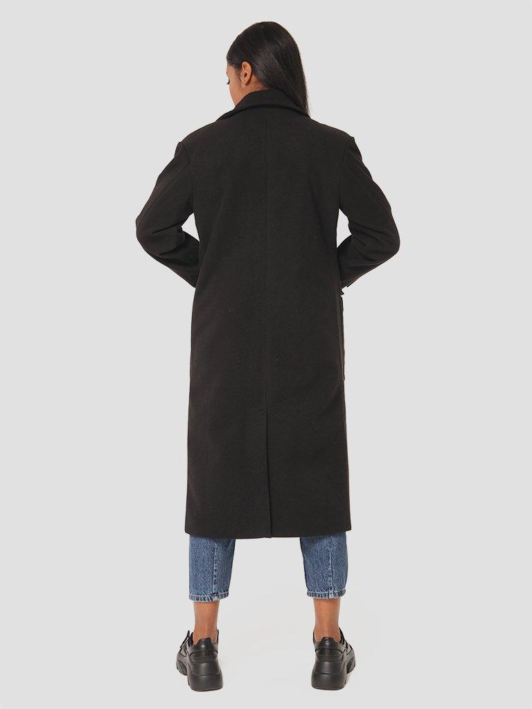 Klasyczny czarny płaszcz Love&Live (zdjęcie 4)
