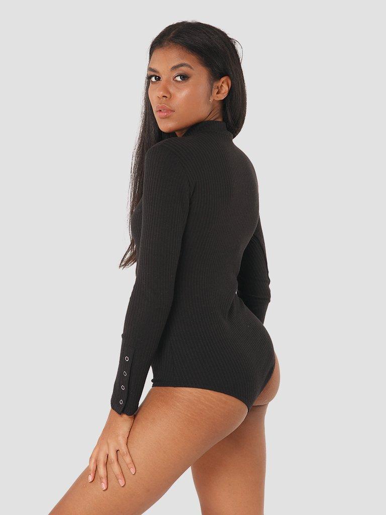 Body w kolorze czarnym Katarina Ivanenko (zdjęcie 3)