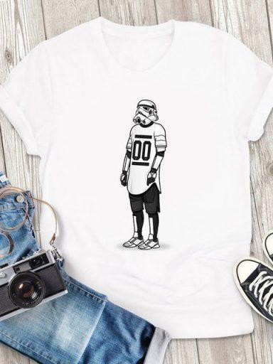 T-shirt męski biały Sport Vader ZUZU (zdjęcie 10)