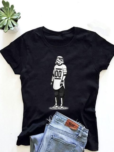 T-shirt męski czarny Sport Vader ZUZU
