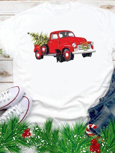 T-shirt męski biały Auto joy Love&Live