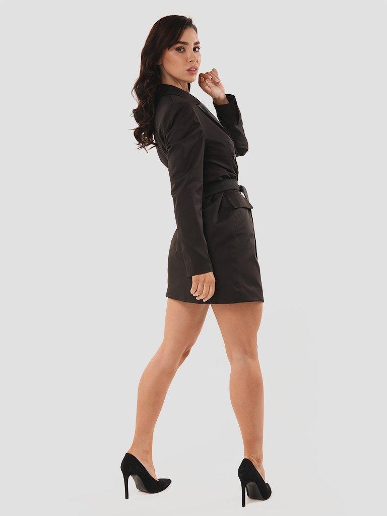 Sukienka marynarka mini w kolorze czarnym Katarina Ivanenko (zdjęcie 3)