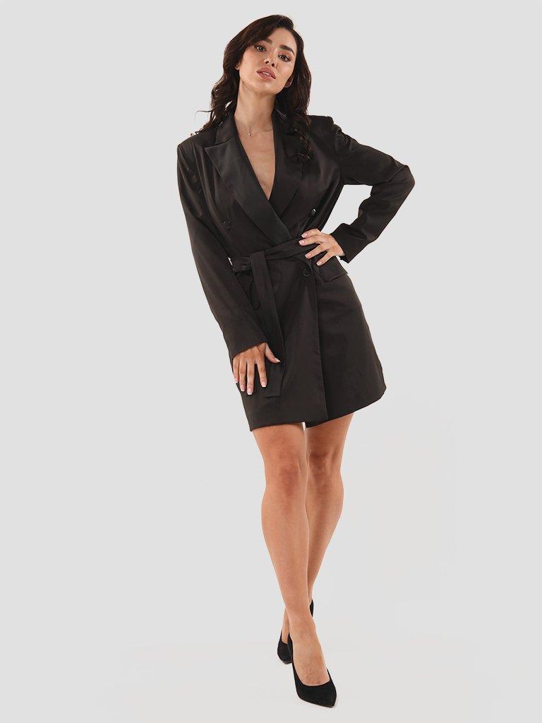 Sukienka marynarka mini w kolorze czarnym Katarina Ivanenko (zdjęcie 4)