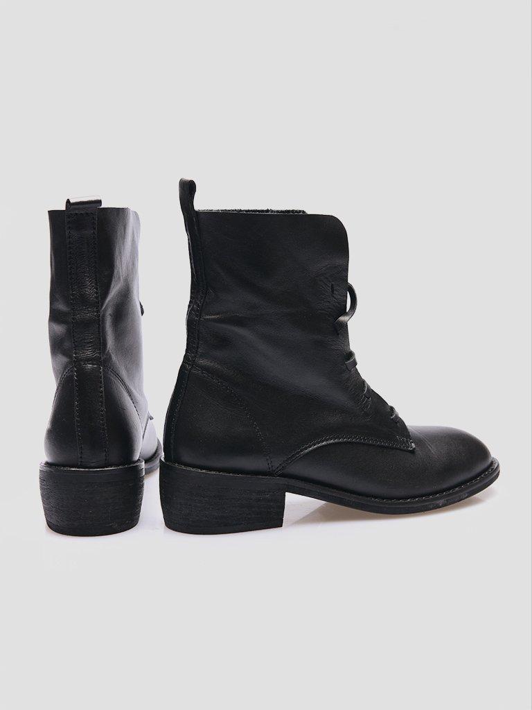 Buty skórzane czarne bez podszewki Katarina Ivanenko (zdjęcie 4)