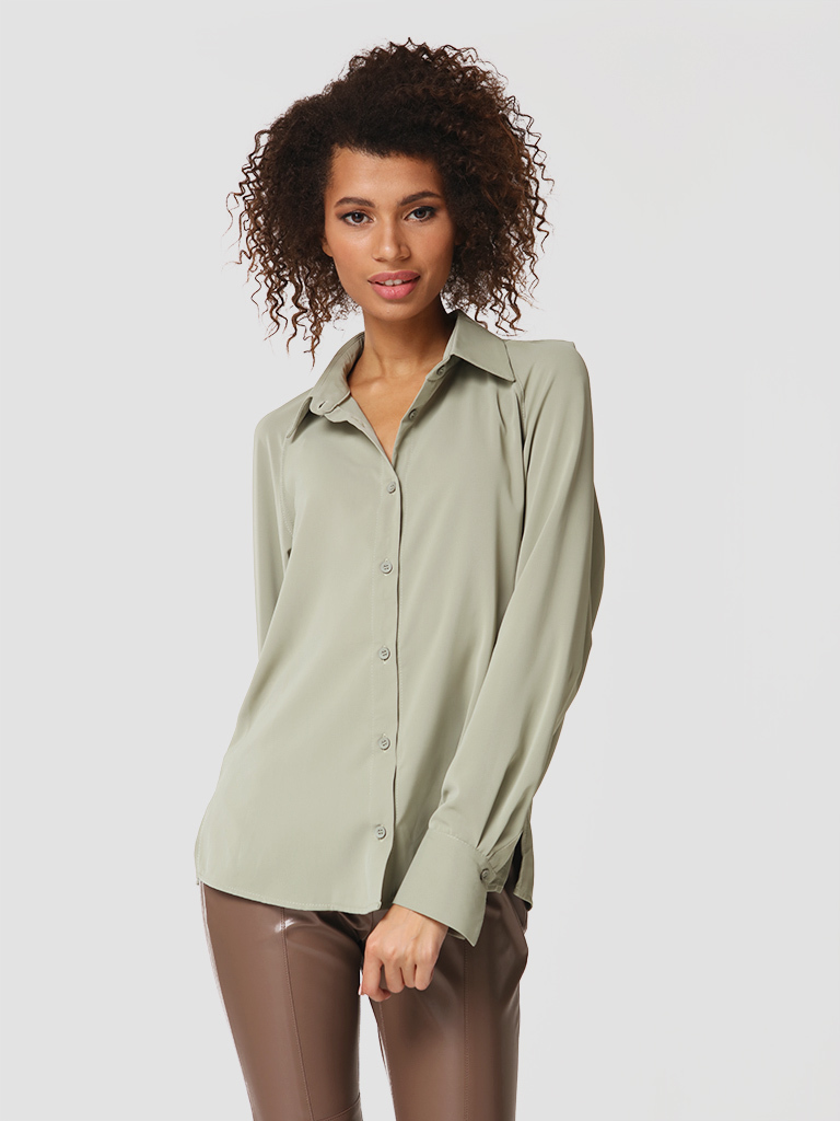 Koszula w kolorze zielonym Katarina Ivanenko