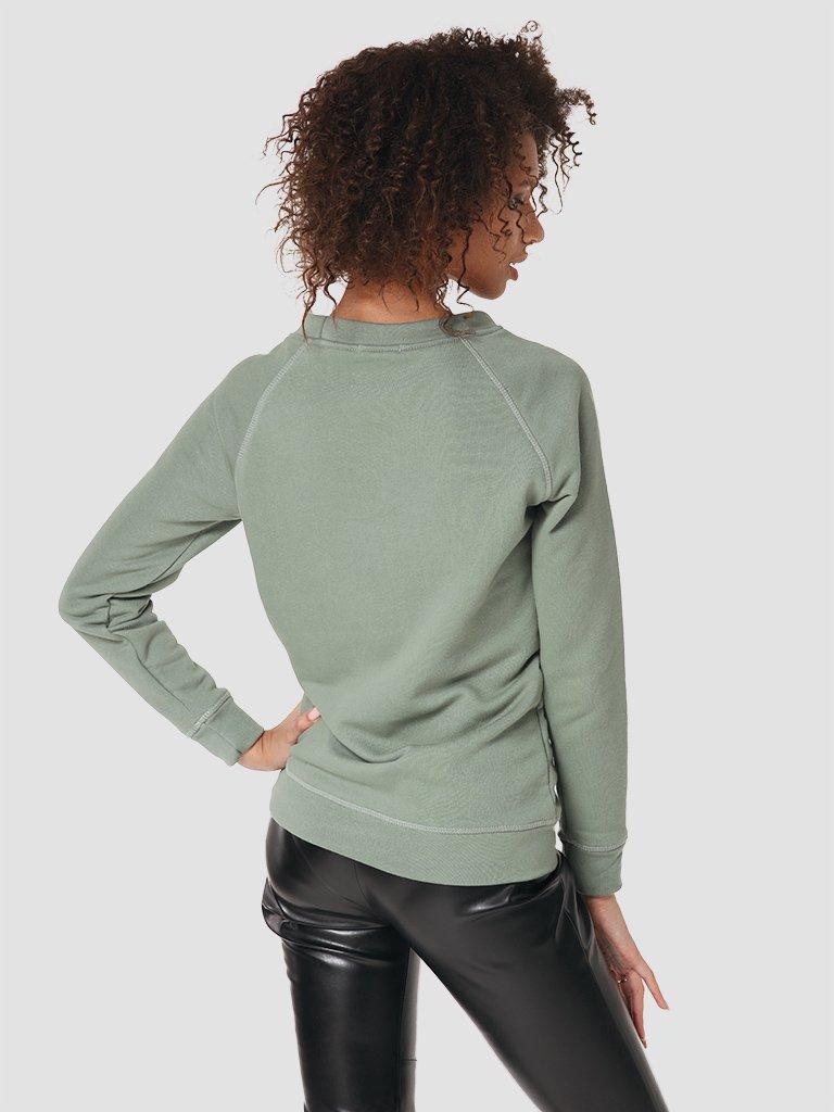 Bluza w kolorze oliwkowym Love&Live (zdjęcie 3)