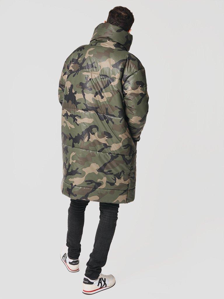 Męska ocieplana kurtka wojskowa Love&Live (zdjęcie 3)