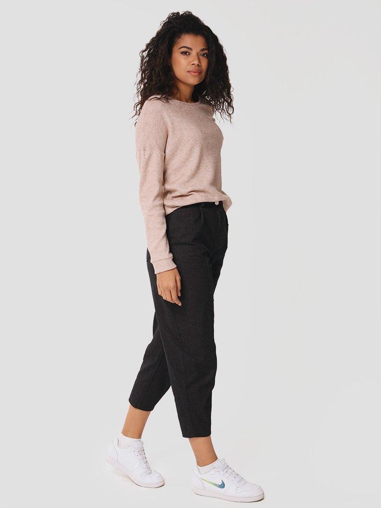 Spodnie jeansowe w kolorze czarnym Love&Live (zdjęcie 2)