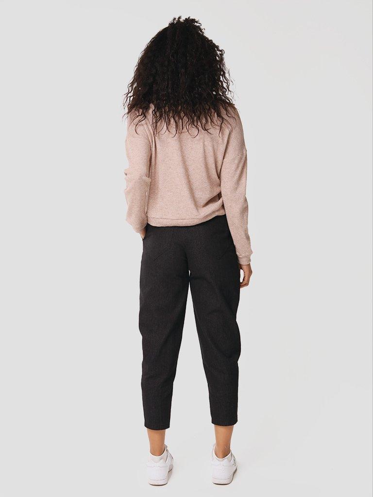 Spodnie jeansowe w kolorze czarnym Love&Live (zdjęcie 4)