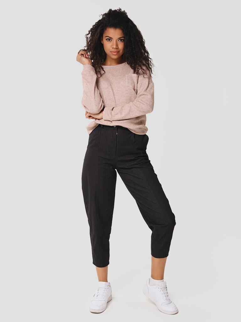 Spodnie jeansowe w kolorze czarnym Love&Live (zdjęcie 3)
