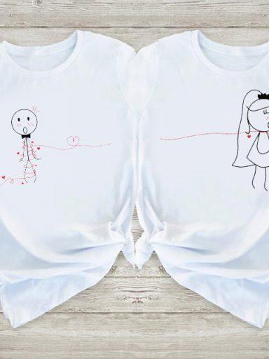 Koszulki dla par Wpaść w pułapkę Love&Live (zdjęcie 4)