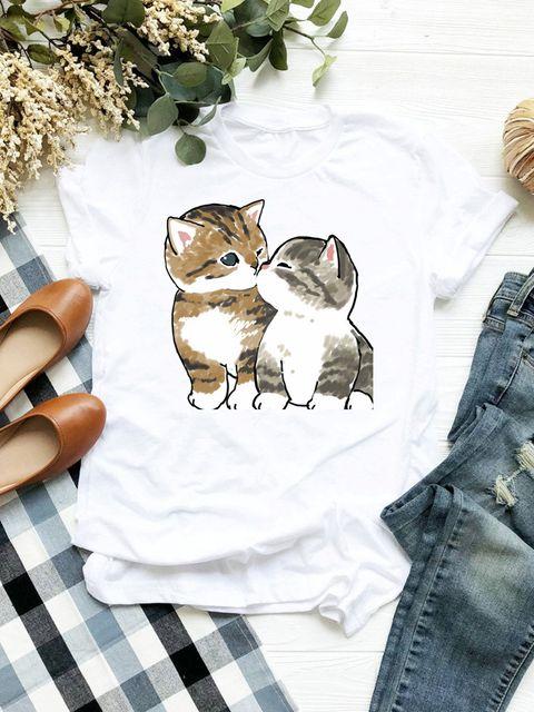 T-shirt biały Buziaczek Love&Live