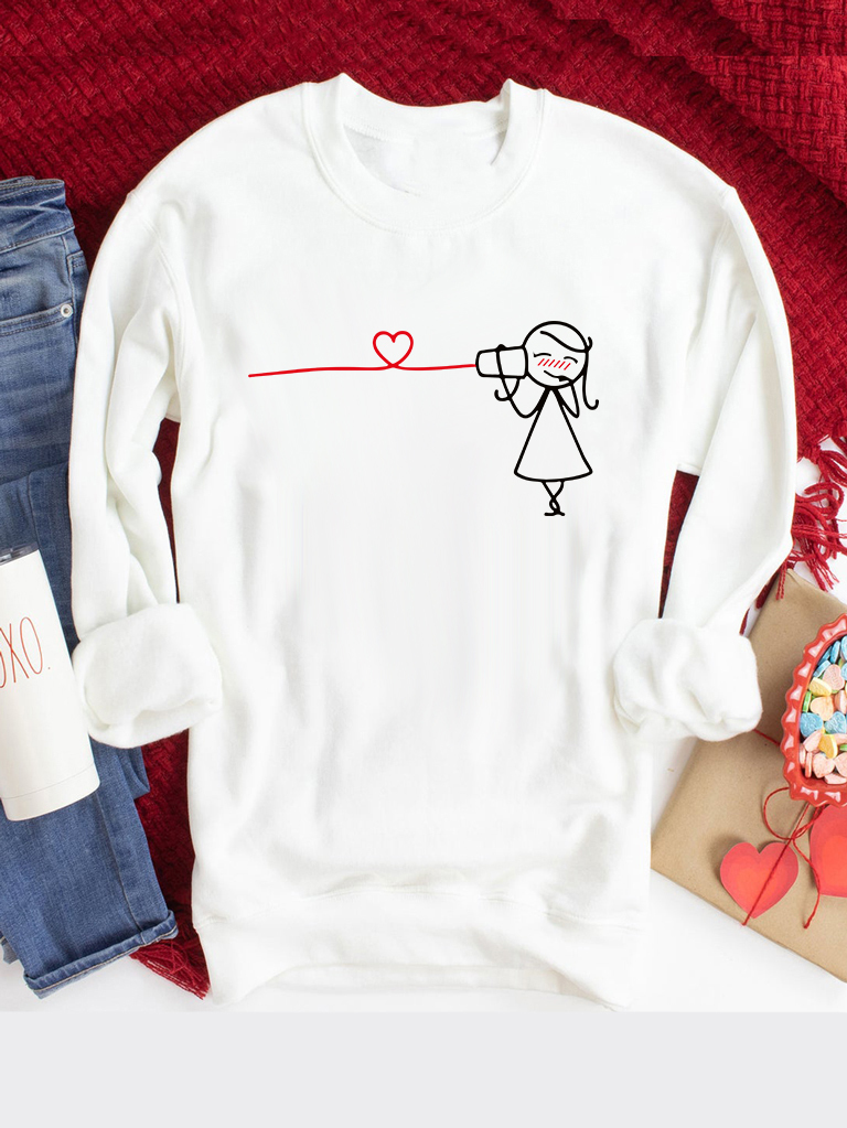 Bluza w kolorze białym Przyjęcie Love&Live