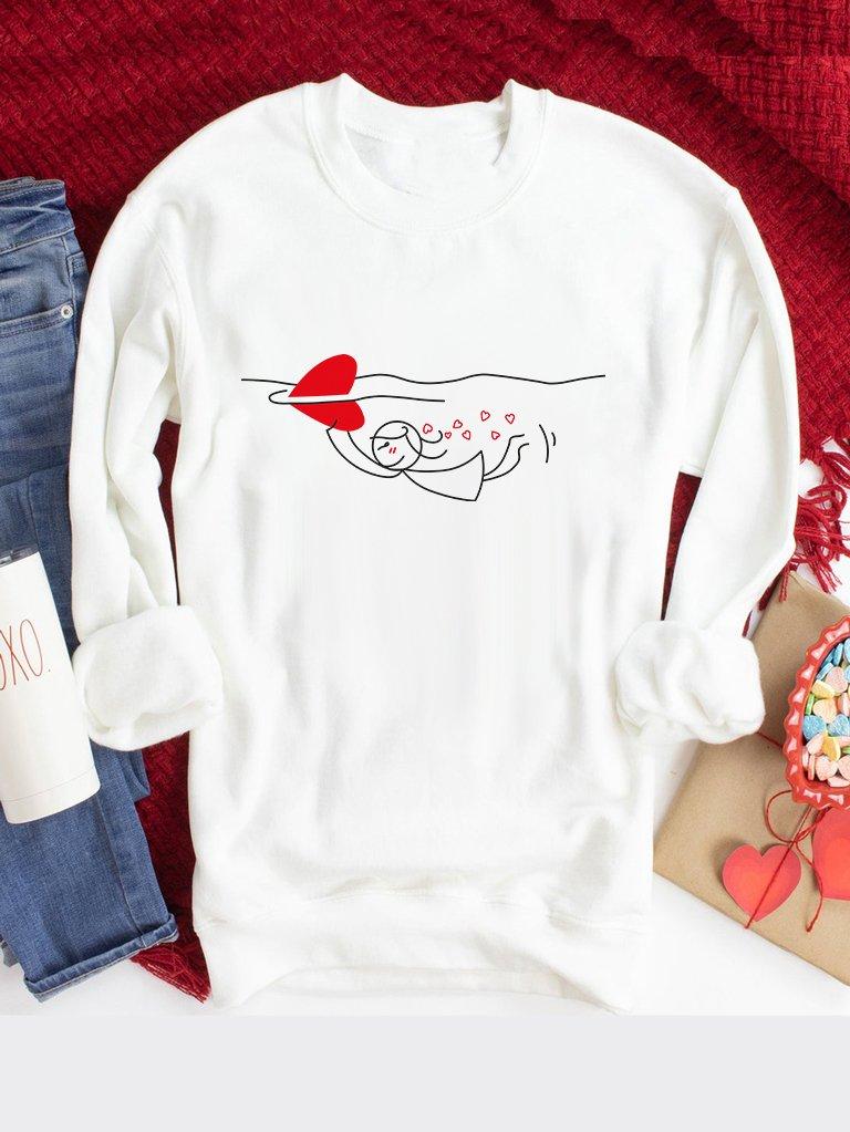 Bluza w kolorze białym Rekin Love&Live