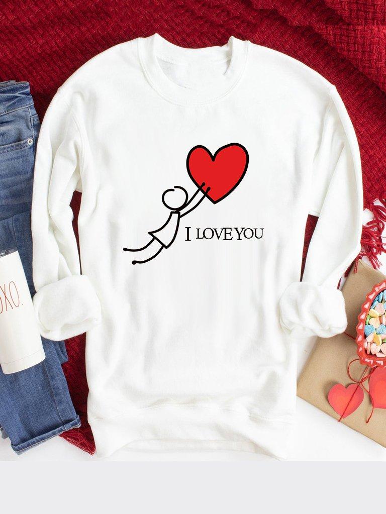 Bluza w kolorze białym Chwyć Moją Miłość Love&Live