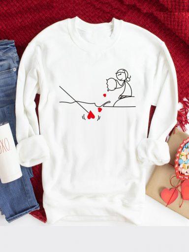 Bluza w kolorze białym Pzynęta Love&Live