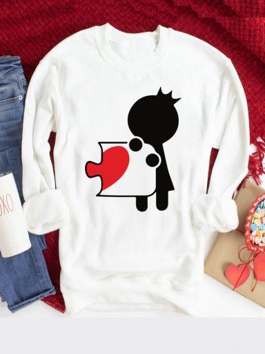 Bluza w kolorze białym Księżniczka Puzzle Love&Live