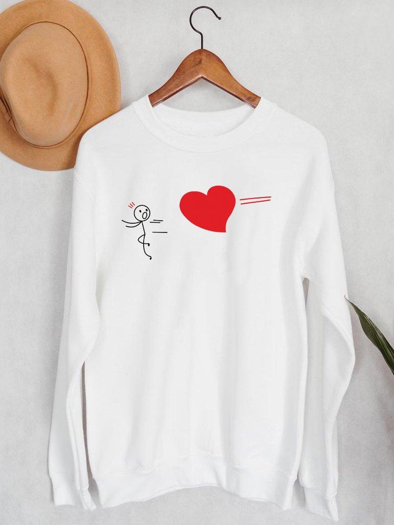 Bluza męska w kolorze białym Trafienie Love&Live