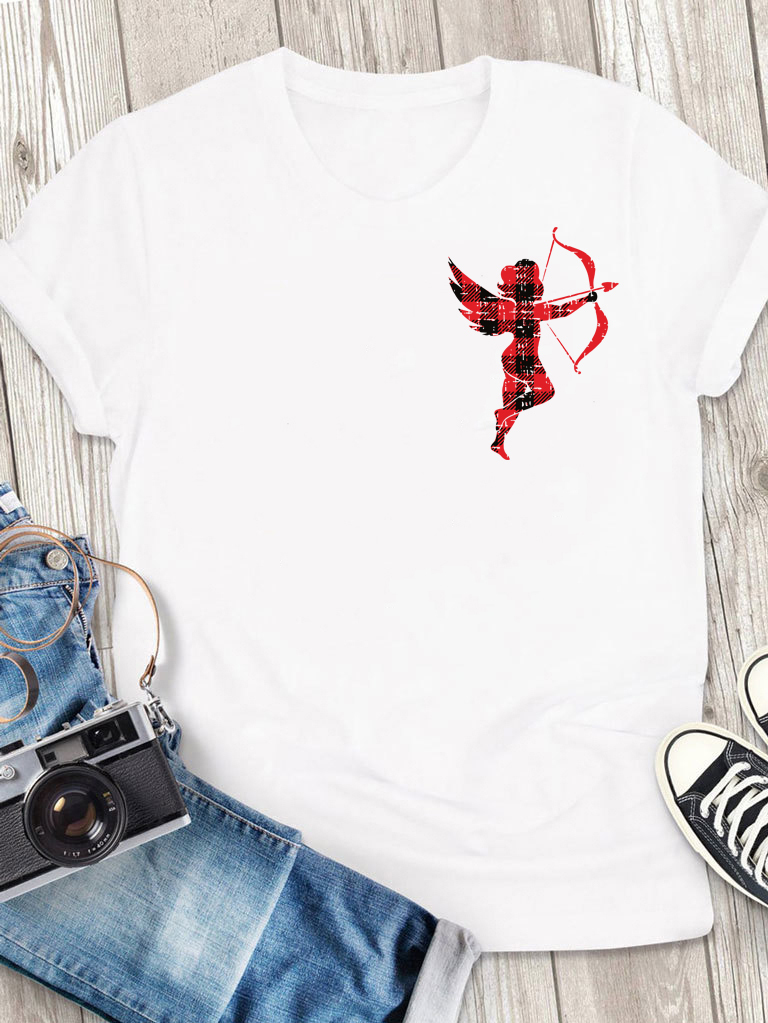 T-shirt męski biały Amorek-2 Love&Live