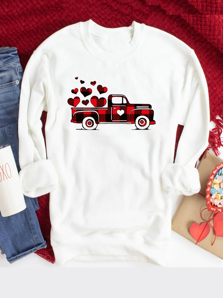 Bluza w kolorze białym Big Love Car Love&Live