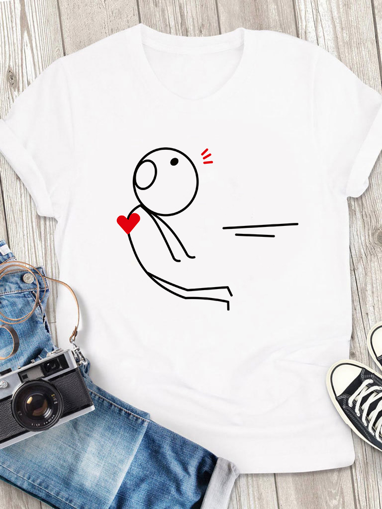T-shirt męski biały Atrakcja Love&Live