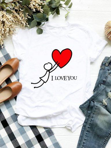 T-shirt biały Chwyć Moją Miłość Love&Live