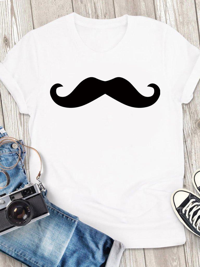 T-shirt męski biały Mr. Love&Live