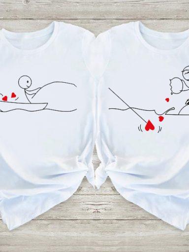 Koszulki dla par Catch Love Love&Live (zdjęcie 8)