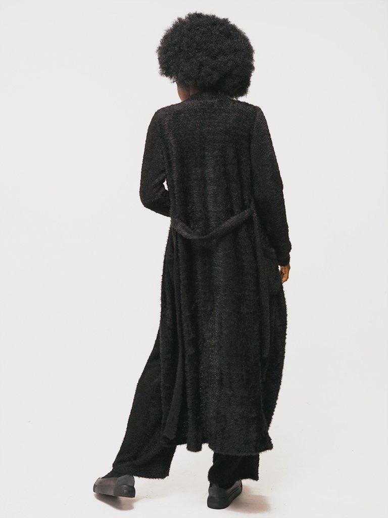 Komplet w kolorze czarnym (kardigan, top, spodnie) Katarina Ivanenko (zdjęcie 2)