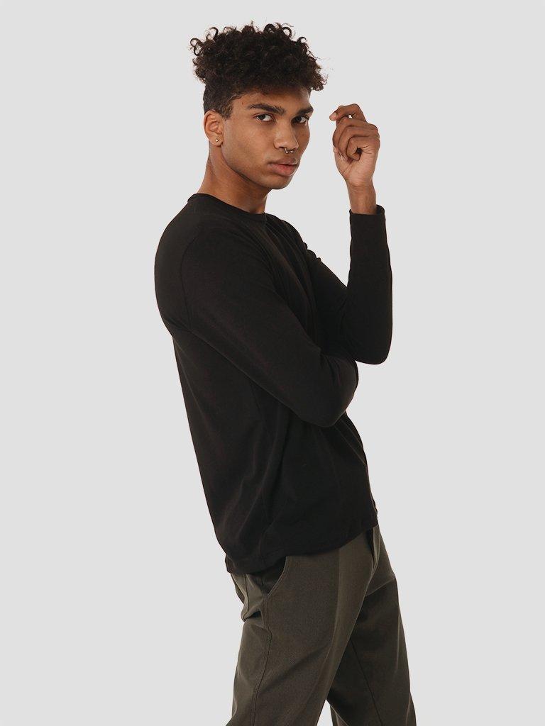 Koszulka męska w kolorze czarnym Katarina Ivanenko (zdjęcie 2)