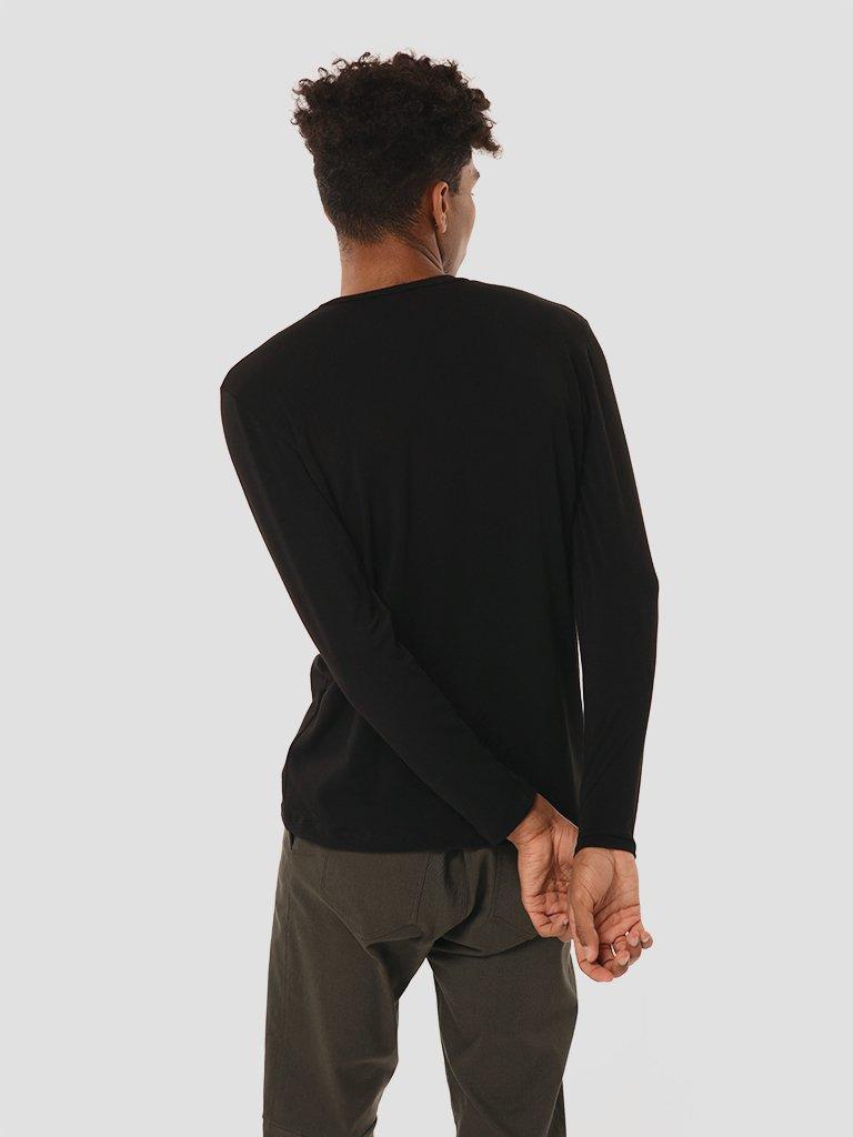 Koszulka męska w kolorze czarnym Katarina Ivanenko (zdjęcie 3)