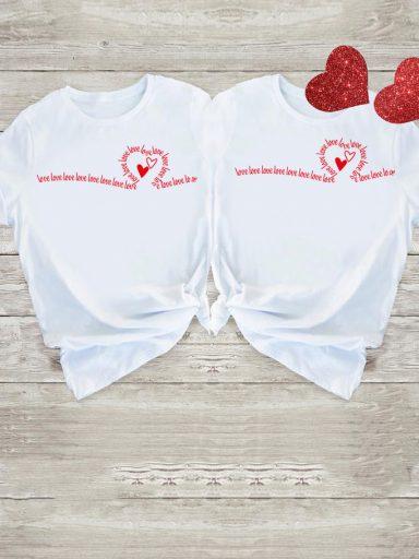 Koszulki dla par Many Love Love&Live (zdjęcie 8)