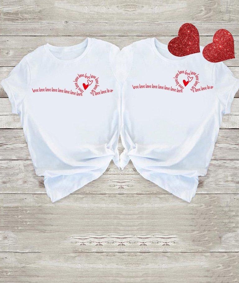 Koszulki dla par Many Love Love&Live