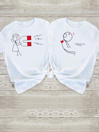 Koszulki dla par Love Magnet Love&Live (zdjęcie 6)