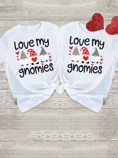 Koszulki dla par Love My Gnomies Love&Live (zdjęcie 5)