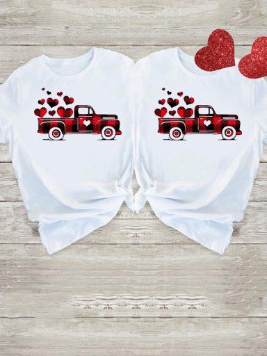 Koszulki dla par Big Love Car Love&Live (zdjęcie 8)