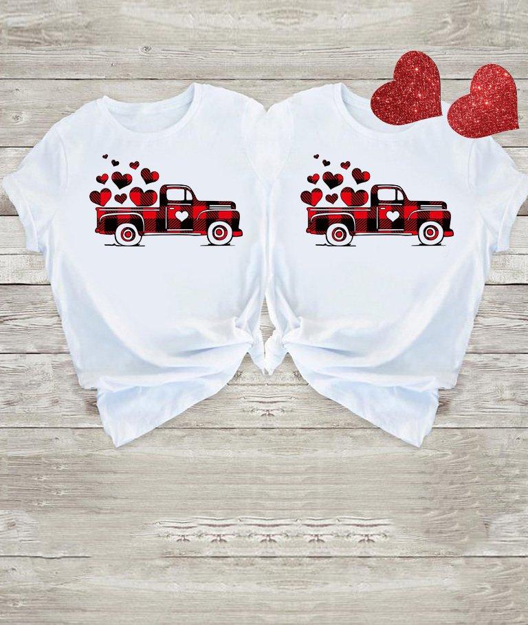 Koszulki dla par Big Love Car Love&Live