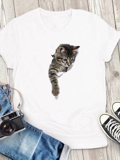 T-shirt męski biały Na Zewnątrz Love&Live