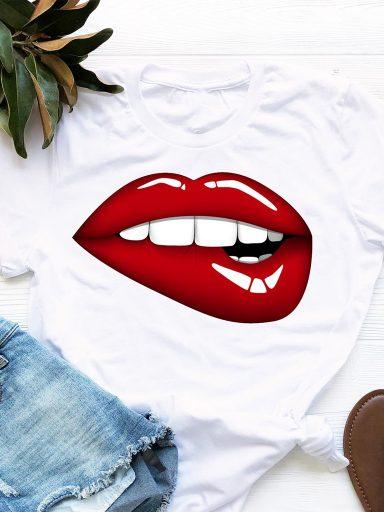 T-shirt biały Chcę Cię Zjeść Love&Live