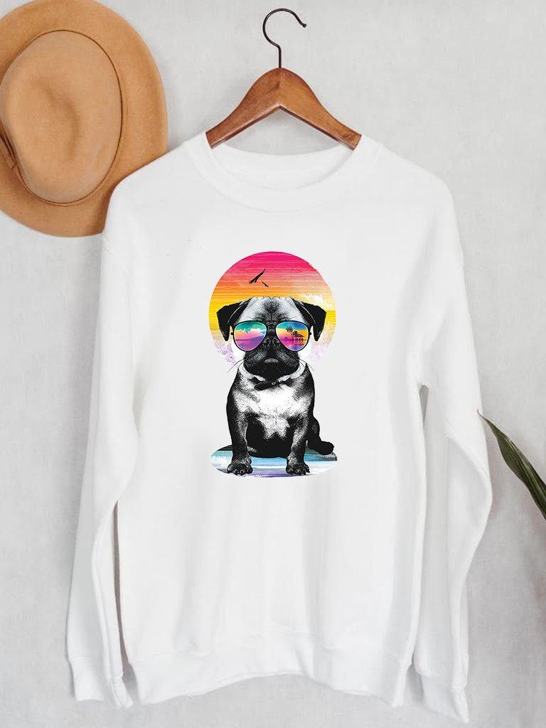 Bluza męska w kolorze białym Laguna Mops Love&Live