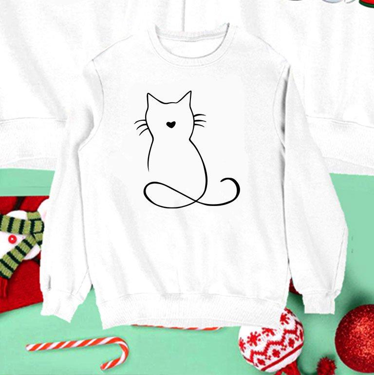 Bluza biała dla dzieci Kotek Love&Live