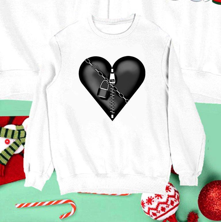 Bluza biała dla dzieci Heart Locked Love&Live