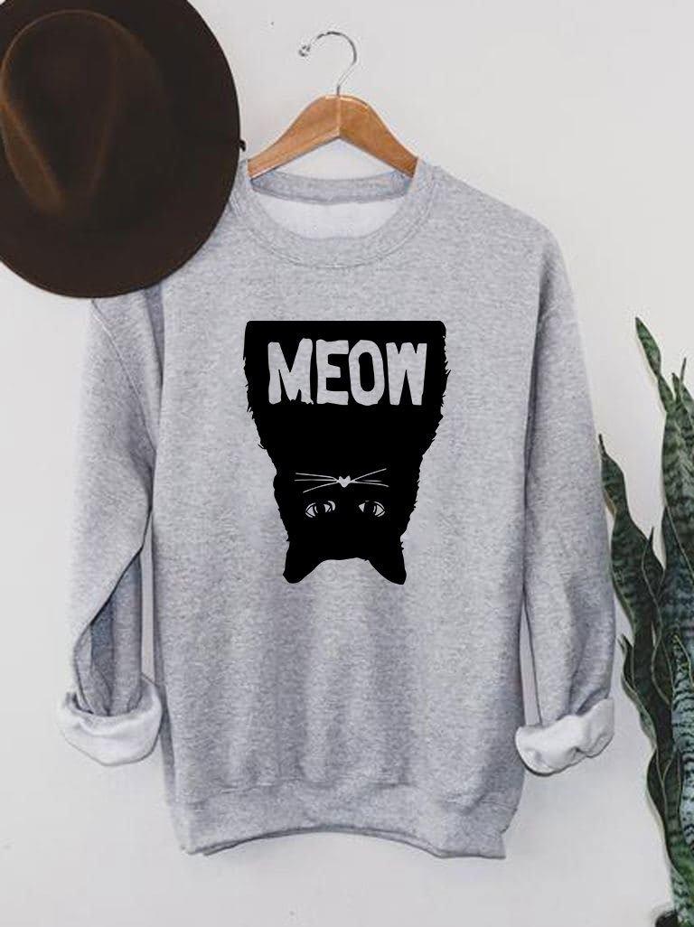 Bluza męska w kolorze szarym Black Meow Love&Live
