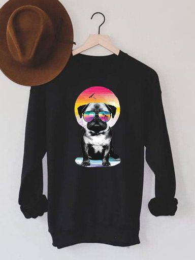 Bluza męska w kolorze czarnym Laguna Mops Love&Live (zdjęcie 8)