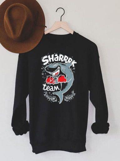 Bluza męska w kolorze czarnym Sharrrk Team Love&Live (zdjęcie 13)