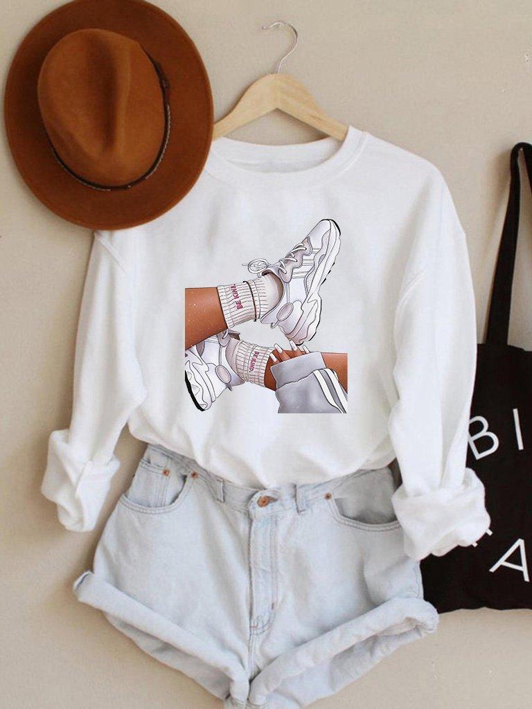 Bluza w kolorze białym Be Kind Love&Live